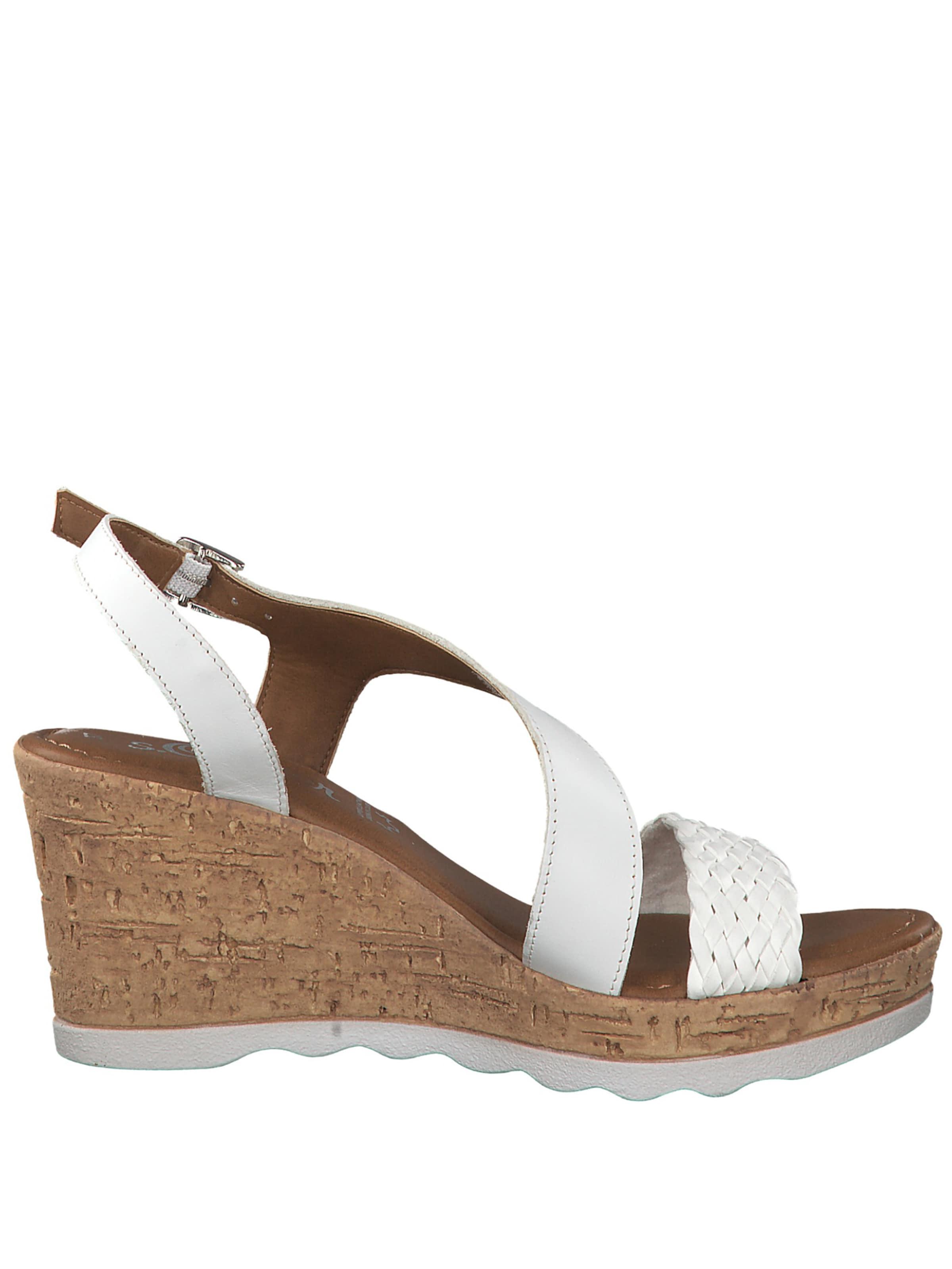 Sandale In S Sandale oliver Weiß S oliver 3jL5Aq4R