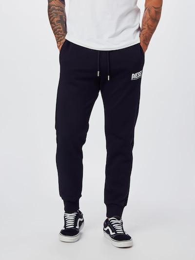DIESEL Hose 'P-TARY-LOGO PANTALONI' in schwarz, Modelansicht