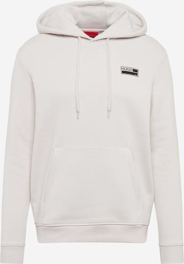 HUGO Sweatshirt 'Doyano' in de kleur Beige / Zwart, Productweergave