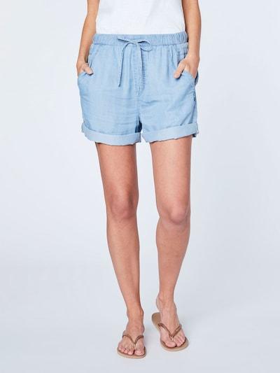 CHIEMSEE Shorts in blau, Modelansicht