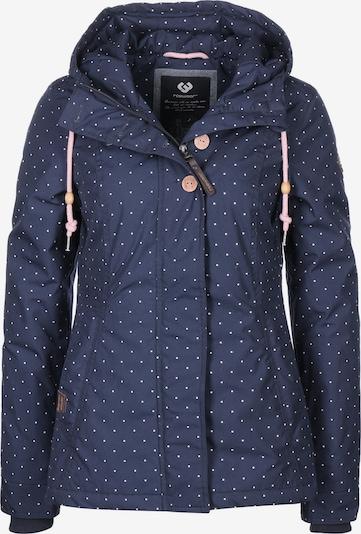 Ragwear Jacke 'Lynx Dots W' in navy / weiß, Produktansicht