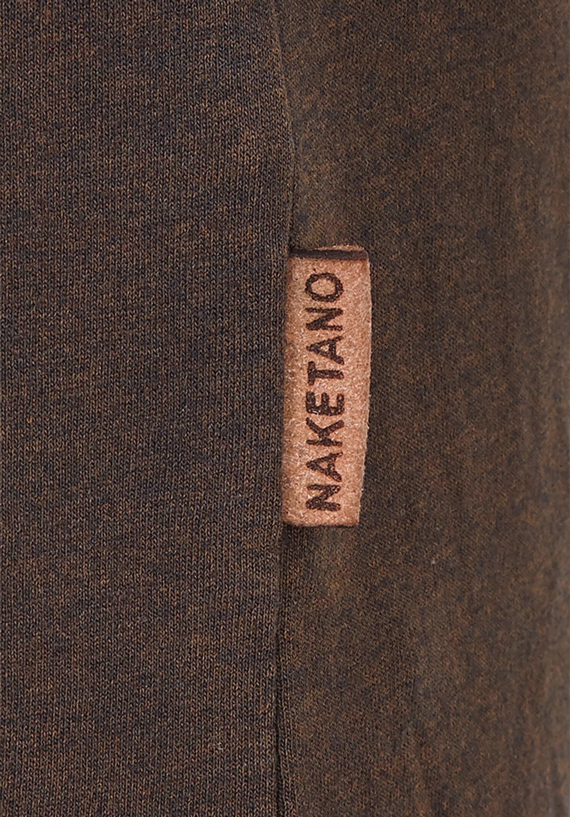 Leben' Traum T Marron Chiné Mein shirt En Naketano 'mir eIWDEH9Y2b