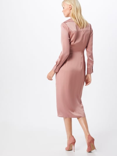 Rochie 'LADIES WOVEN DRESS' GLAMOROUS pe roz: Privire spate