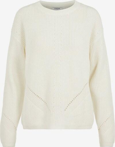 PIECES Pullover in weiß, Produktansicht