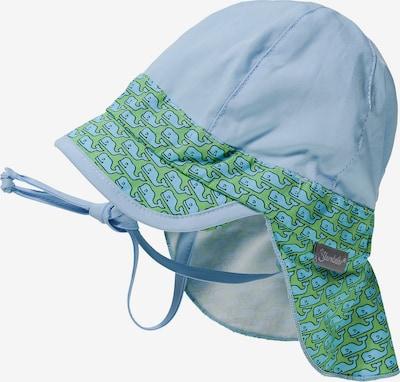 STERNTALER Schirmmütze in hellblau / grün, Produktansicht