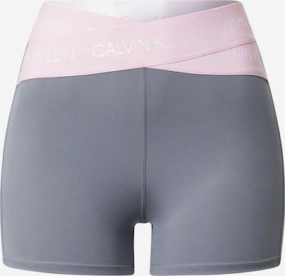 Calvin Klein Performance Shorts in altrosa / silber, Produktansicht