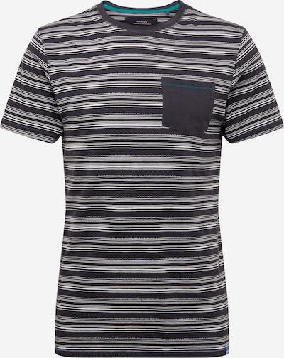 Only & Sons T-Shirt 'HASSE' en graphite / blanc, Vue avec produit