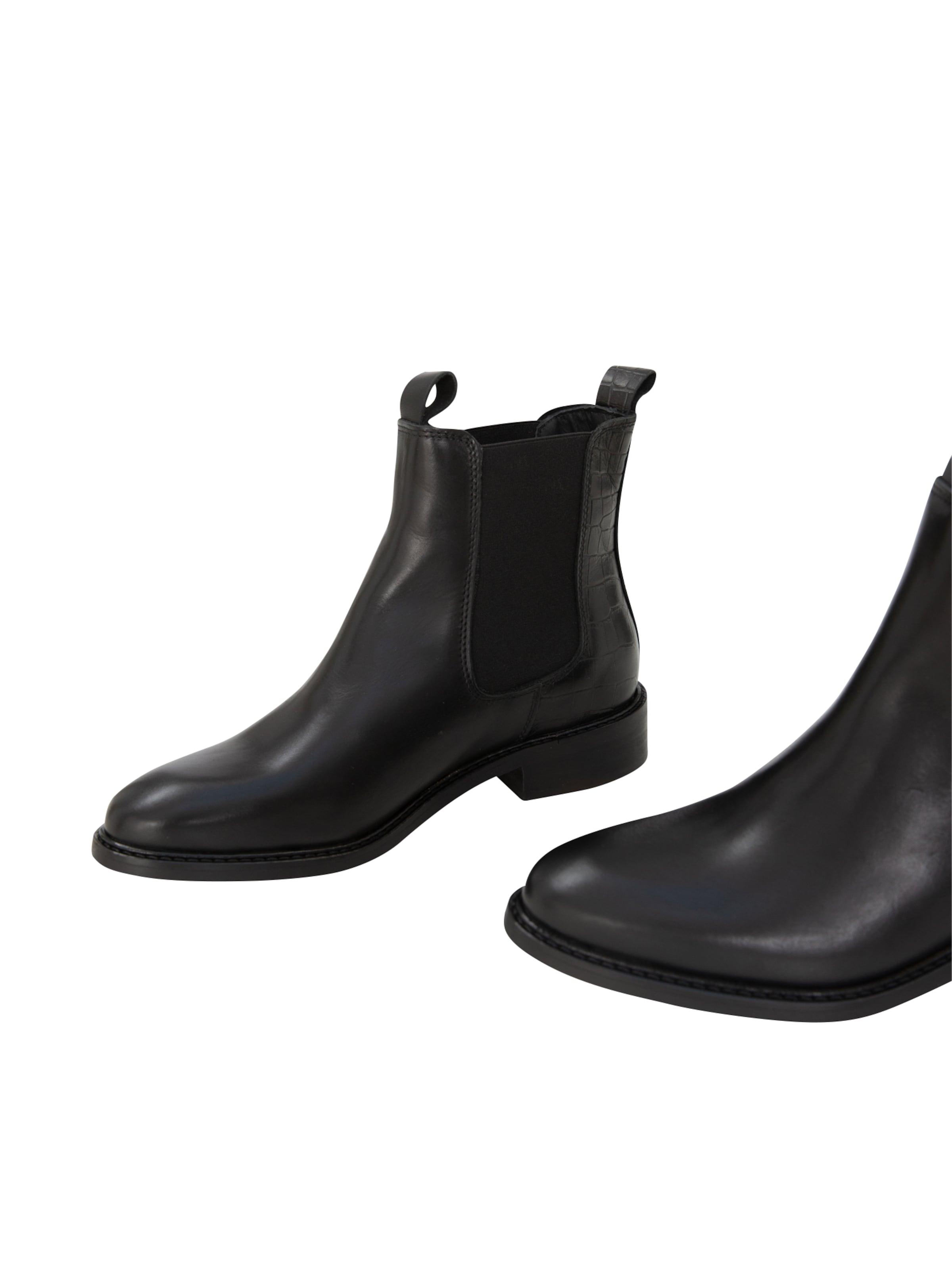 EDITED Chelsea boots 'Aida' i svart