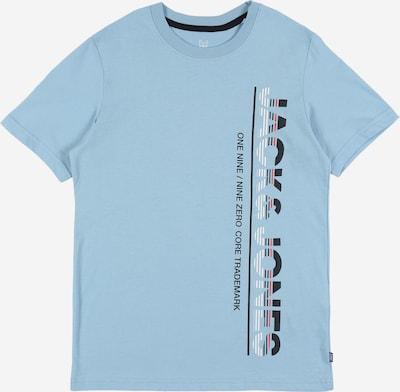 Jack & Jones Junior T-Shirt en bleu clair, Vue avec produit