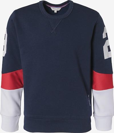 REVIEW FOR TEENS Sweatshirt in nachtblau / rot / weiß, Produktansicht