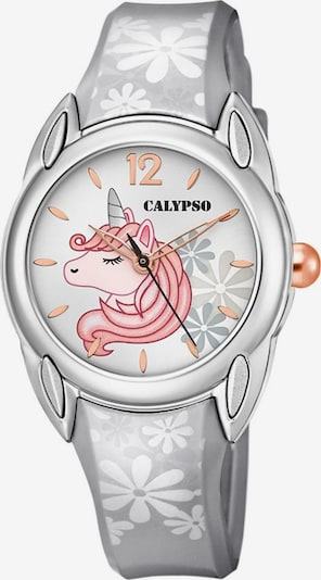 CALYPSO WATCHES Quarzuhr 'Sweet Time' in grau / pink / silber / weiß, Produktansicht