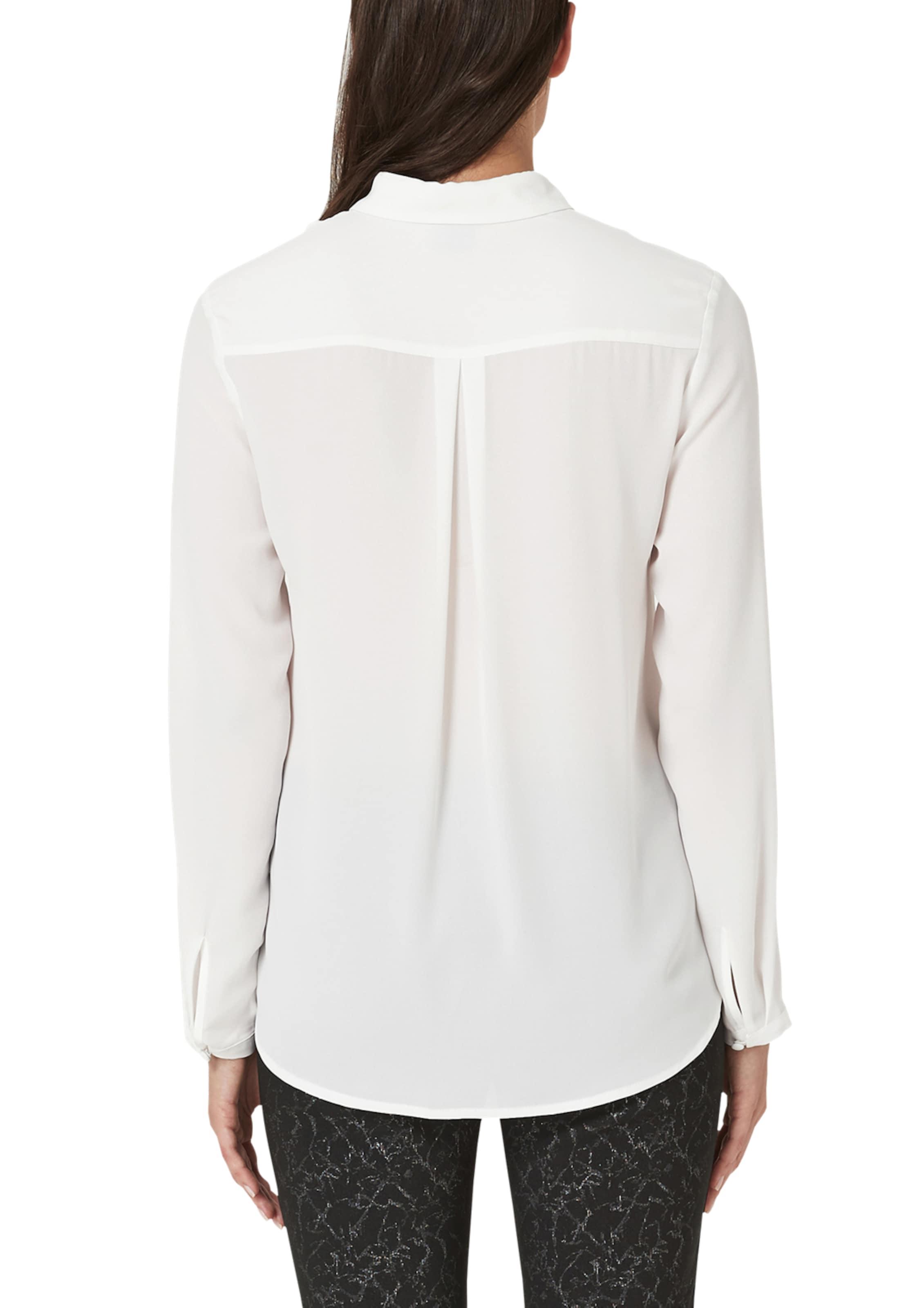 S Bluse Black In oliver Weiß Label FJ3cTl1K
