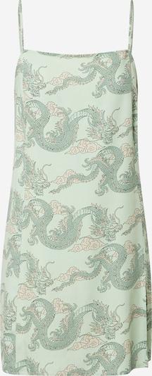 Motel Kleid 'Datista' in grün / mint / pastellorange, Produktansicht