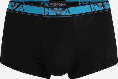 Emporio Armani Boxershorts in de kleur Aqua / Zwart, Productweergave
