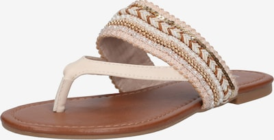 ABOUT YOU T-bar sandals 'Natalie' in nude, Item view