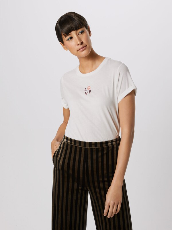 'love Blanc Junkie T shirt Rules' En Catwalk yvYbf6g7