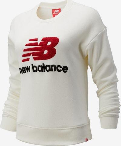 new balance Sweatshirt 'Athletics Stadiu' in marine / rot / weiß, Produktansicht