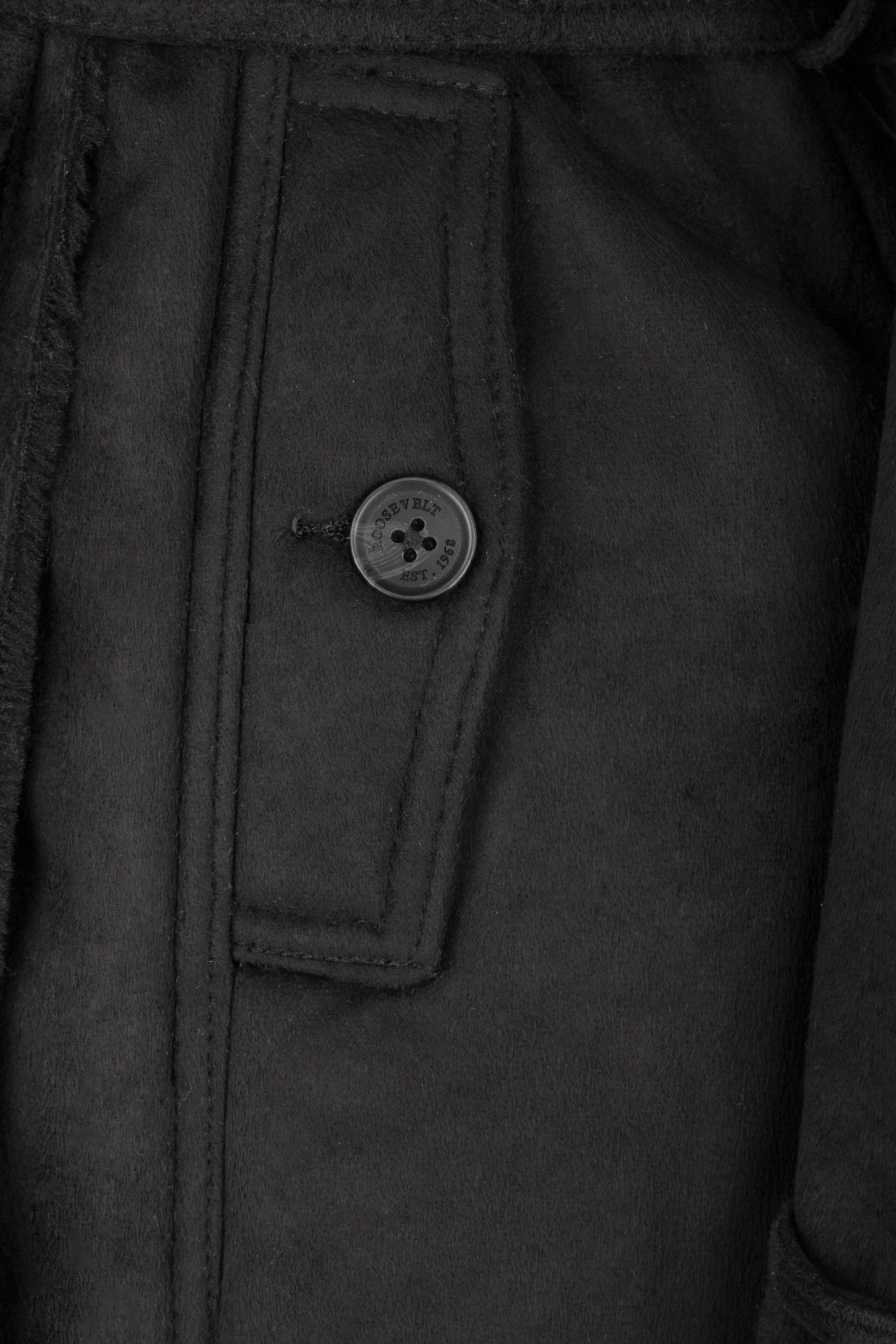 En Veste Noir Noir En Roosevelt Roosevelt Veste En D'hiver Veste D'hiver Roosevelt D'hiver v80wmNn