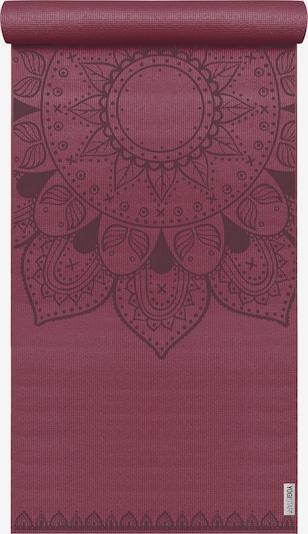 YOGISTAR.COM Yogamatte Basic Art Collection Harmonic Mandala in rot / bordeaux, Produktansicht