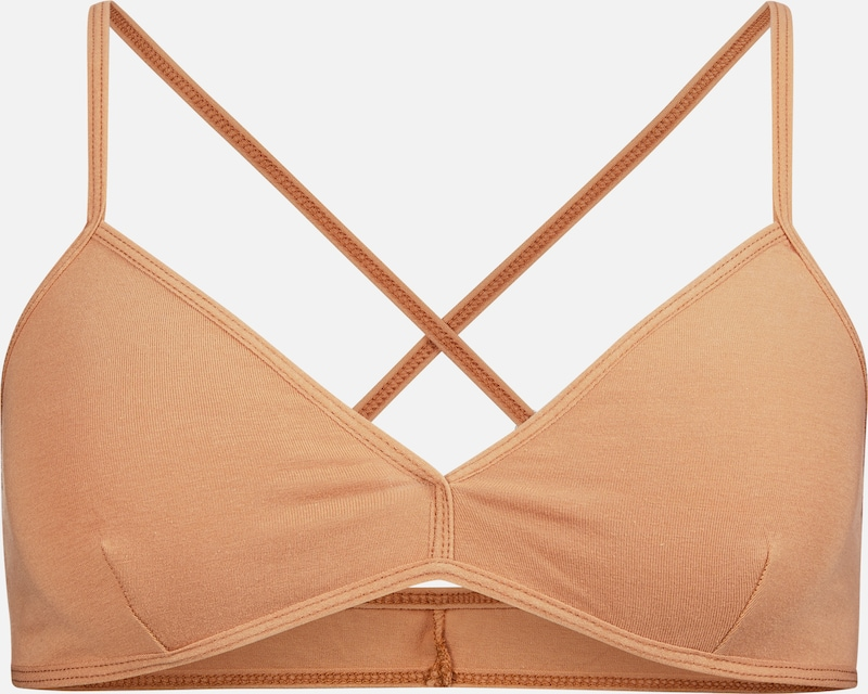 VATTER 'Fine Frida' Triangle Bra in orange / apricot, Produktansicht