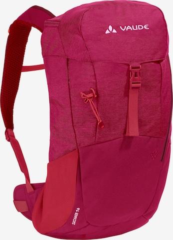 VAUDE Sports Backpack 'Skomer 16' in Red