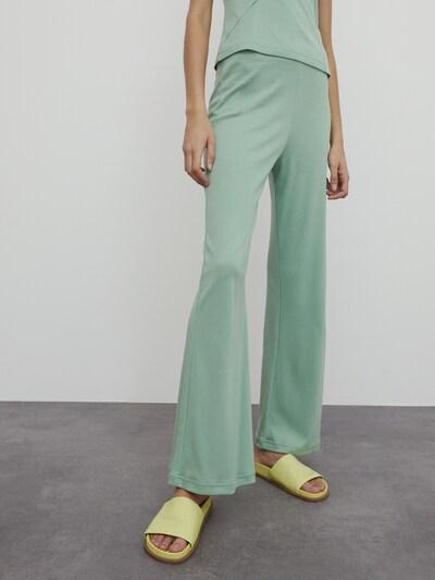 EDITED Hose 'Emine' in grün, Modelansicht