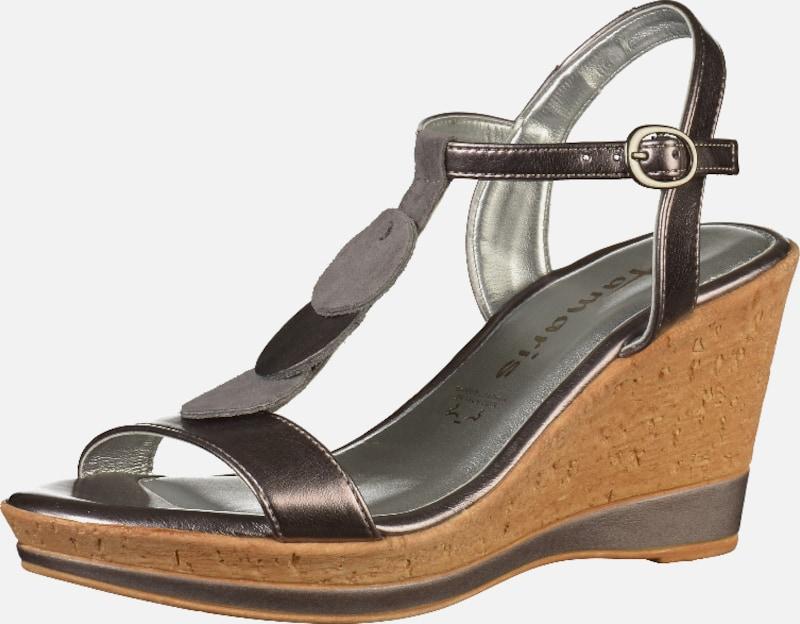 TAMARIS Sandalen sonstiges sonstiges sonstiges Material Wilde Freizeitschuhe e35c54
