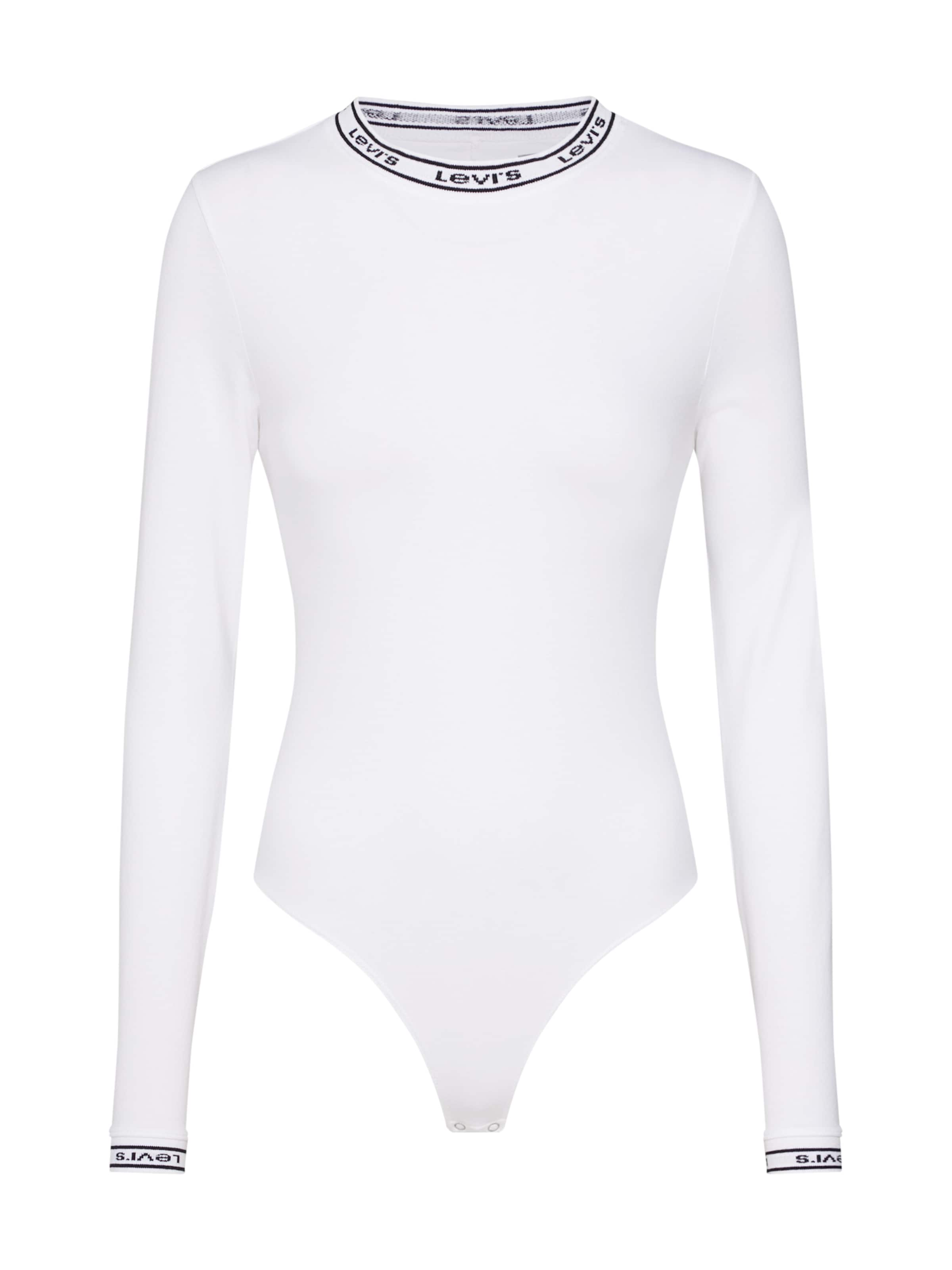 Levi's In Shirt 'ls Bodysuit' Weiß thQrsdC