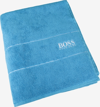 BOSS Home Duschtuch 'Plain' in blau: Frontalansicht