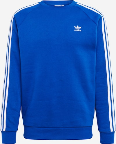 ADIDAS ORIGINALS Sweatshirt '3-STRIPES CREW' in royalblau: Frontalansicht