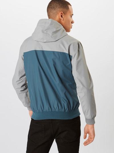 Iriedaily Jacke 'Auf Deck' in pastellblau / grau: Rückansicht