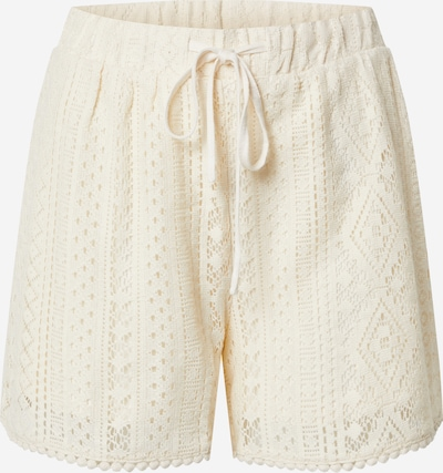 VERO MODA Pantalon 'VMOLEA NW SHORTS JRS GA' en beige, Vue avec produit