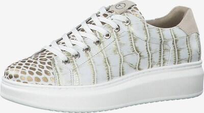 TAMARIS Tenisky - zlatá / bílá, Produkt