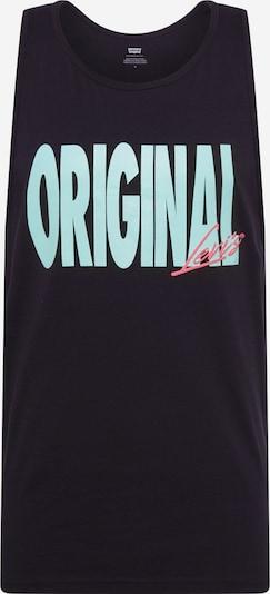 Tricou 'GRAPHICTANKTOP' LEVI'S pe negru / alb, Vizualizare produs