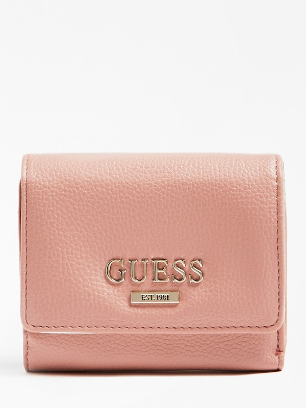 GUESS Portemonnaie in beige taupe | ABOUT YOU