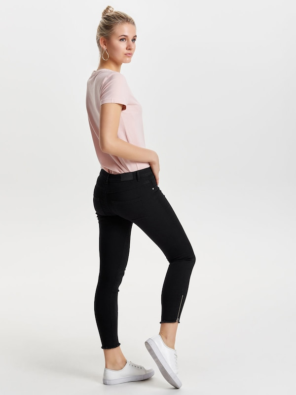 JACQUELINE de YONG Skinny Fit Jeans 'Ulle Reg Ankle'