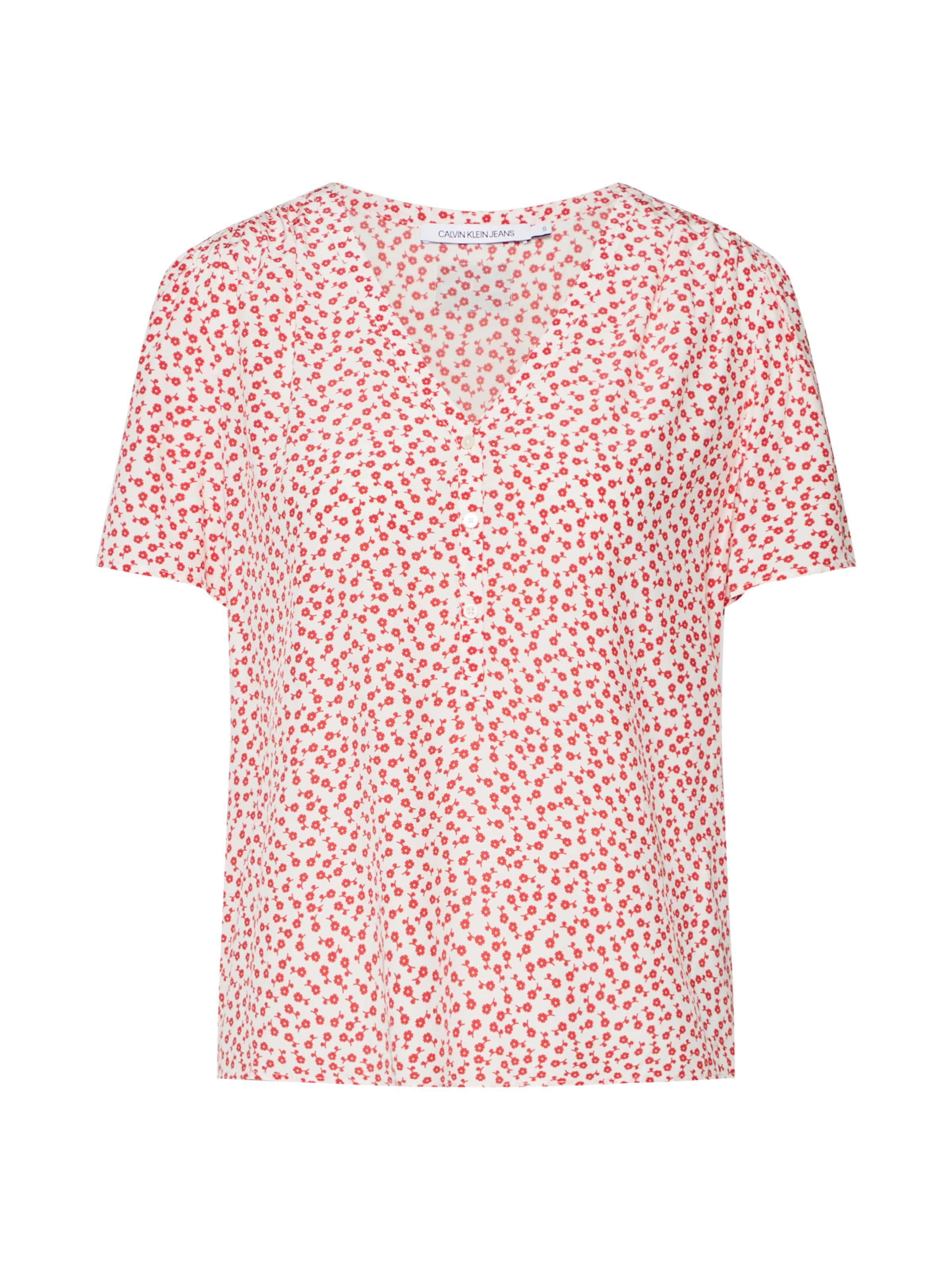 Calvin Shirt RotWeiß Jeans In Klein 4LR5jA