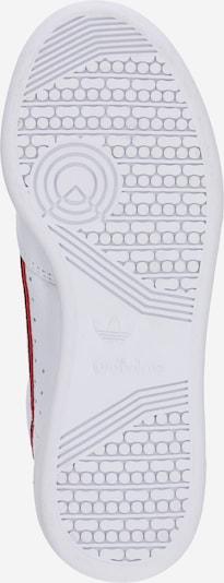 ADIDAS ORIGINALS Continental 80 Sportmode Sneakers Schuhe in navy / rot / weiß: Ansicht von unten