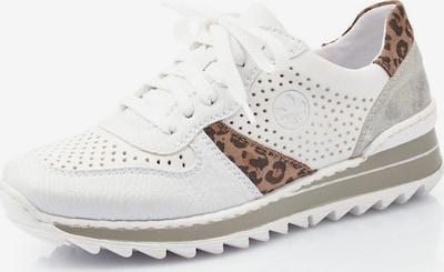 RIEKER Sneaker in braun / grau / schwarz / weiß, Produktansicht