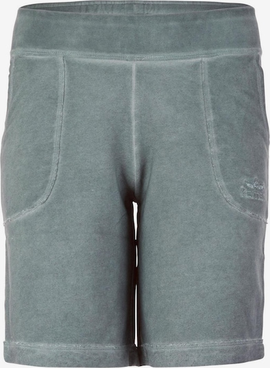 KAMAH Yoga Basic-shorts 'permila' - Forest in pastellgrün, Produktansicht