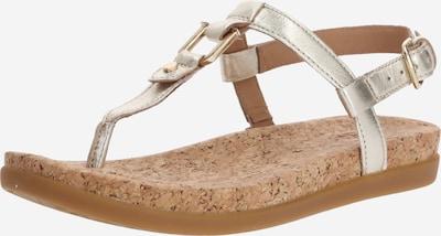 UGG Sandale 'W ALEIGH' in beige / gold, Produktansicht
