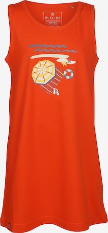 ELKLINE Kleid 'BEACH' in Rot