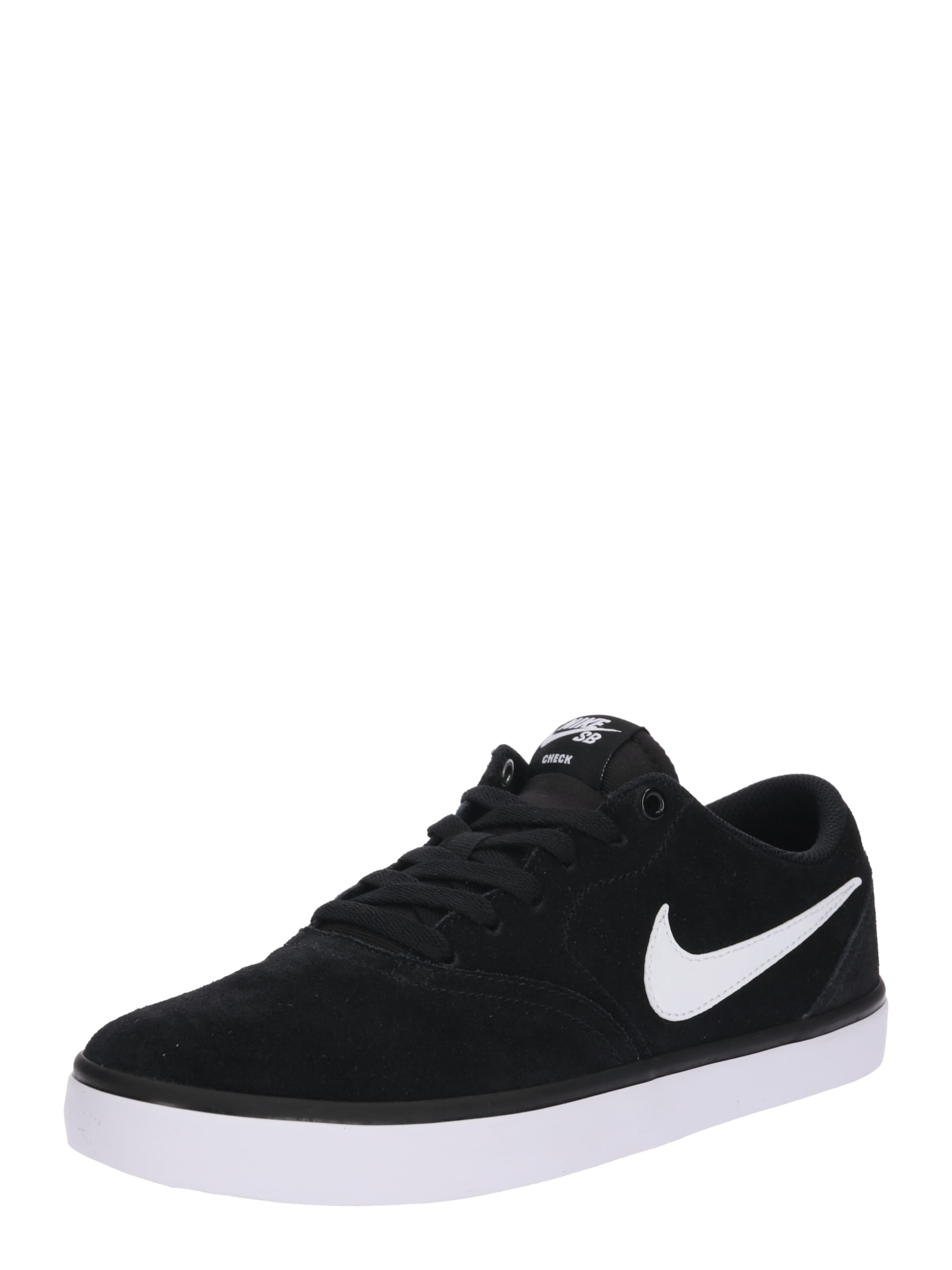 Noir Skate' 'sb Check Baskets Basses En Nike Sb Solarsoft 8nwvmN0