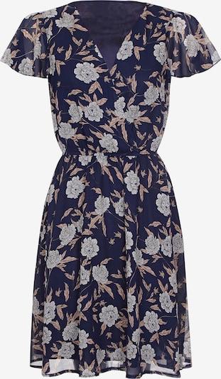 Mela London Kleid in navy, Produktansicht