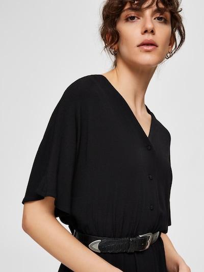 SELECTED FEMME Robe en noir, Vue avec produit