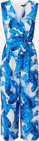 COMMA Jumpsuit in blau / weiß, Produktansicht