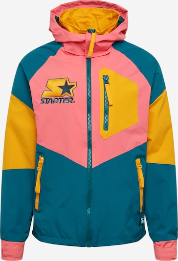 Starter Black Label Přechodná bunda 'Starter' - tyrkysová / žlutá / pink, Produkt