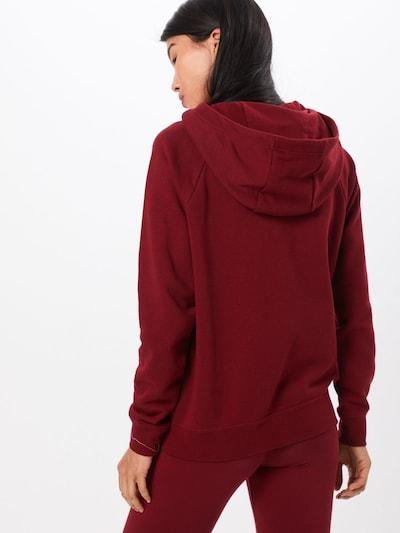 Nike Sportswear Sweat-shirt en rouge: Vue de dos