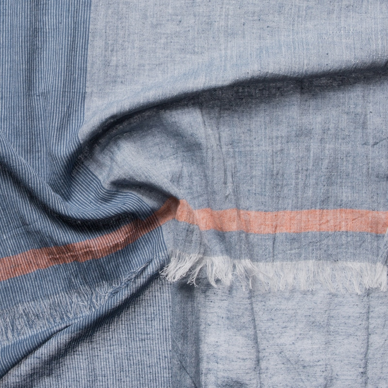 Codello Scarf With Pinstripes