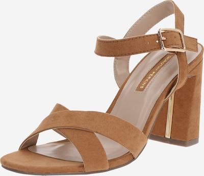 Sandale cu baretă 'SELENA' Dorothy Perkins pe caramel, Vizualizare produs